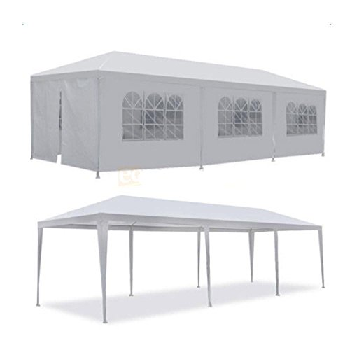 10×30-White-Outdoor-Gazebo-Canopy-Party-Wedding-Tent-8-Sidewalls-Removable-Walls-0-1