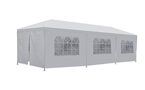 10×30-White-Outdoor-Gazebo-Canopy-Party-Wedding-Tent-8-Sidewalls-Removable-Walls-0