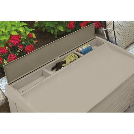 127-Gallon-Light-Taupe-Resin-Storage-Seat-Deck-Box-Can-be-Used-to-Store-Patio-Furniture-Cushions-Yard-Gear-and-More-A-Good-Choice-for-Pool-or-Gardening-Equipment-Easy-Tool-Free-Assembly-0-0