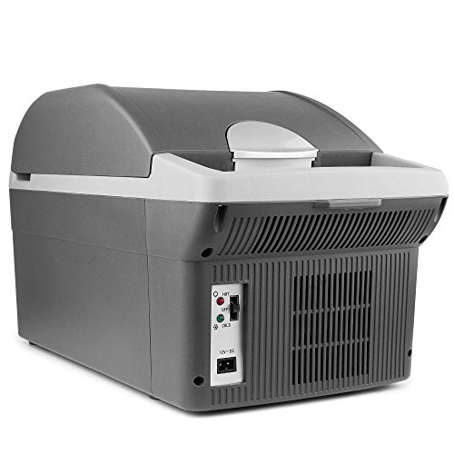 12V-Thermo-Electric-14-Liter-CoolerWarmer-Heavy-duty-Handle-for-Easy-Carry-Storage-and-Transport-0