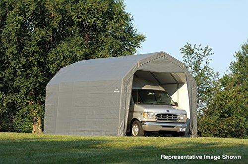 12x24x9-Barn-Shelter-Gray-0-1