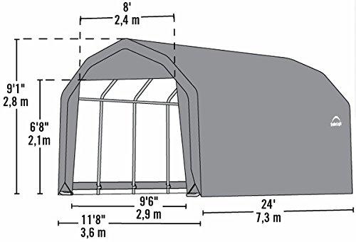 12x24x9-Barn-Shelter-Gray-0-2
