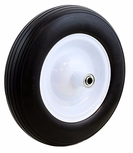 16-Solid-rubber-tire-flat-free-58-axle-x-for-cart-wagon-wheelbarrow-formed-ribbed-tread-tyre-replacement-wheel-new-128-0