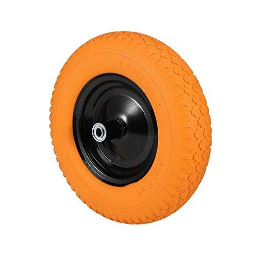 16-Tire-wheelbarrow-wheel-barrow-flat-free-cart-wagon-solid-foamed-tire-replacement-new-0
