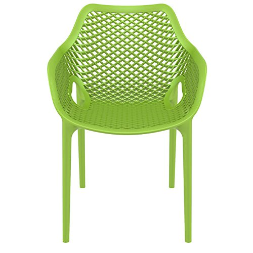 175-Air-XL-Resin-UV-Resistant-Stackable-and-Polypropylene-Outdoor-Dining-Arm-Chairs-with-Gas-Injection-Molded-Legs-Set-of-2-0-2