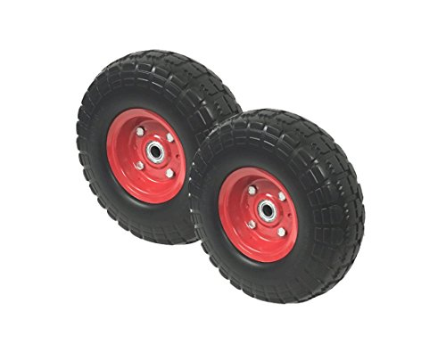 2-New10-Flat-Free-Tires-Wheels-with-58-Center-Hand-Truck-All-Purpose-Utility-Tire-on-Wheel-0