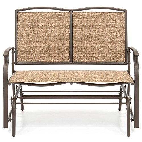 2-Person-Loveseat-Patio-Glider-Bench-Rocker-0-0
