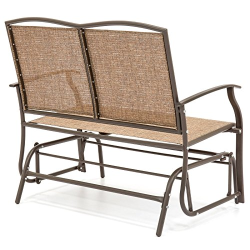 2-Person-Loveseat-Patio-Glider-Bench-Rocker-0-1