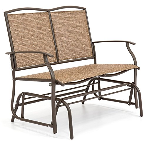 2-Person-Loveseat-Patio-Glider-Bench-Rocker-0