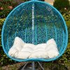 2-Persons-Seater-Egg-Shape-Wicker-Rattan-Swing-Lounge-Chair-Hammock-TURQUOISE-0-0