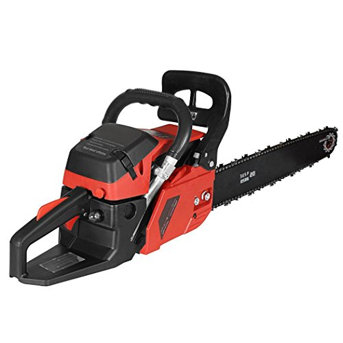 20-58CC-Chainsaw-2-cycle-35HP-Powerful-Gas-Chainsaw-with-2-Chains-0-0