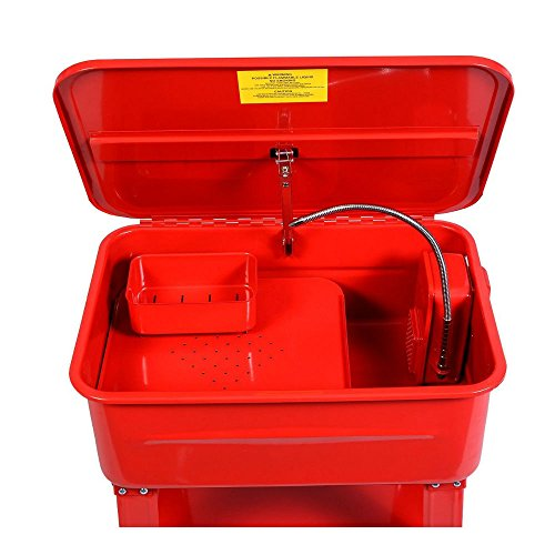20-Gallon-Automotive-Parts-Washer-Cleaner-Heavy-Duty-Electric-Solvent-Pump-New-0-0