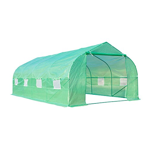 20107-Larger-Green-House-Walk-in-Greenhouse-Outdoor-Plant-Gardening-0-0
