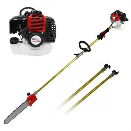 2017-New-52cc-Long-Reach-Pole-Chainsaw-Brush-Cutter-Whipper-Snipper-Pruner-Line-Tree-with-2-extend-pole-Garden-Tools-0