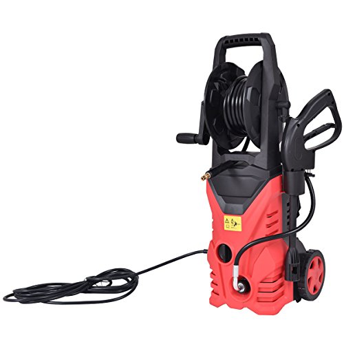2030PSI-Electric-Pressure-Washer-Cleaner-17-GPM-1800W-W-Hose-Reel-Red-New-0