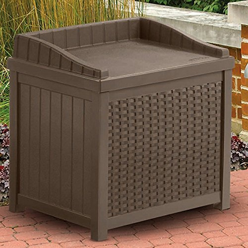 22-Gallon-Storage-Bench-Seat-Garden-Outdoor-Box-W-Resin-Decorative-Woven-Effect-in-Mocha-Brown-Color-0-0