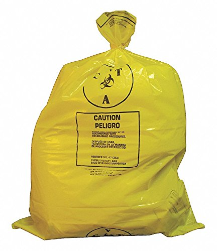 25-gal-Yellow-Chemo-Waste-Bags-Contractor-Strength-Rating-Flat-Pack-100-PK-0