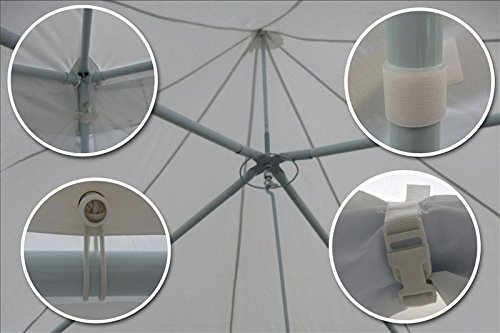 29×21-Octagonal-Octagon-Wedding-Party-Gazebo-Tent-Canopy-White-0-2
