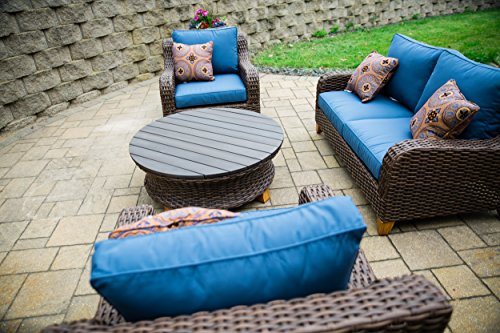 2nd-Shade-Patio-Furniture-Sunbrella-Padded-Outdoor-Wicker-4-Piece-Loveseat-Set-Aluminum-Frame-and-UV-Coated-Wicker-0-1