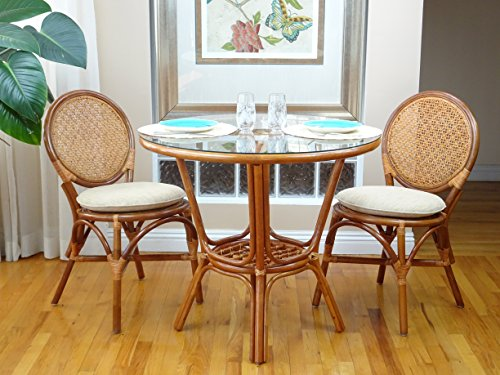 3-Pc-Rattan-Wicker-Dining-Set-Round-Table-Glass-Top2-Denver-Side-ChairsColonial-0-1