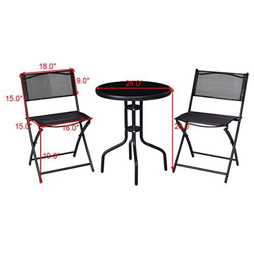 3-Pcs-Bistro-Set-Garden-Backyard-Table-Folding-Chairs-Outdoor-Patio-Furniture-0-1