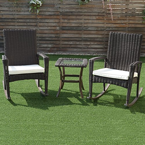 3-Pcs-Rattan-Wicker-Patio-Coffee-Table-Furniture-Set-Rocking-Chair-Cushioned-0-0