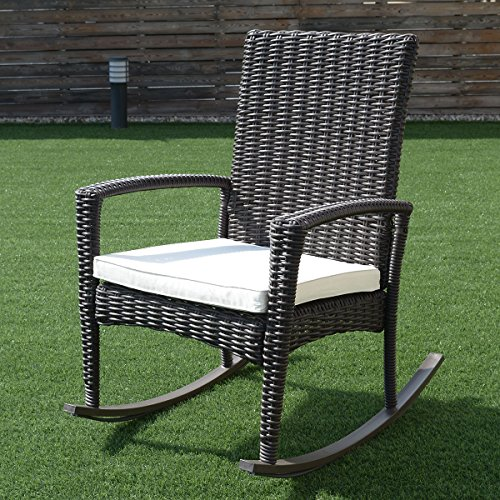 3-Pcs-Rattan-Wicker-Patio-Coffee-Table-Furniture-Set-Rocking-Chair-Cushioned-0-2
