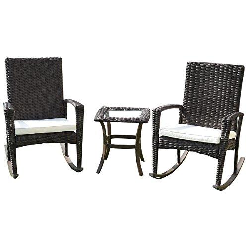 3-Pcs-Rattan-Wicker-Patio-Coffee-Table-Furniture-Set-Rocking-Chair-Cushioned-0