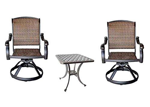 3-Piece-Bistro-Set-Cast-Aluminum-Patio-Furniture-Outdoor-2-Santa-Clara-Swivel-Rockers-Nassau-End-Table-0