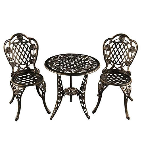 3-Piece-Bronze-Ornate-Rose-Cast-Aluminum-Outdoor-Patio-Bistro-Chat-Set-0