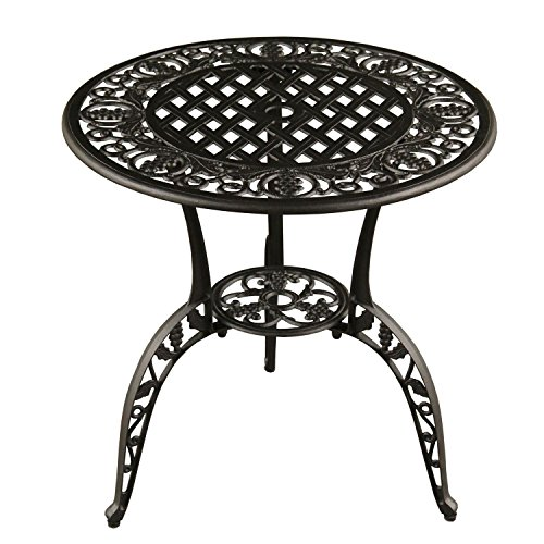3-Piece-Jet-Black-Ornate-Grape-Vineyard-Aluminum-Outdoor-Patio-Bistro-Chat-Set-0-0