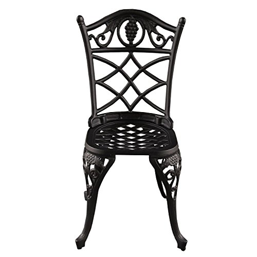 3-Piece-Jet-Black-Ornate-Grape-Vineyard-Aluminum-Outdoor-Patio-Bistro-Chat-Set-0-1
