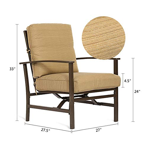3-Piece-Patio-Outdoor-Bistro-Set-Furniture-Two-Cushioned-Chairs-Glass-Coffee-Table-0-1