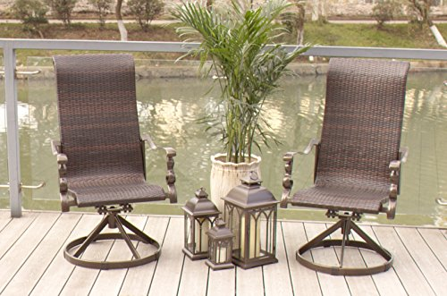 3-pc-Cast-Aluminum-Swivel-Rocking-Wicker-Bistro-Set-0-0