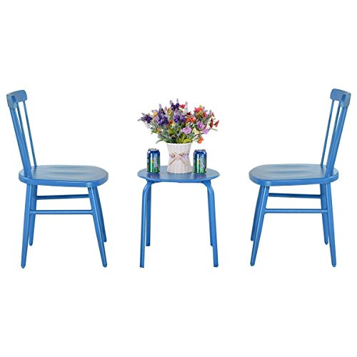 3-pcs-Bistro-Steel-Table-and-Chair-Blue-0-1