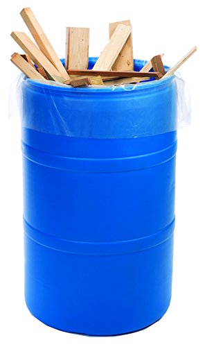 38-X-72-6-Mil-Clear-60-Gallon-Flat-Dust-Collector-Poly-Bag-on-Roll-45-Roll-Laddawn-6900-0