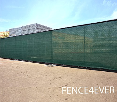 4-x-50-3rd-Gen-Olive-Dark-Green-Fence-Privacy-Screen-Windscreen-Fabric-Mesh-Tarp-Aluminum-Grommets-0-1