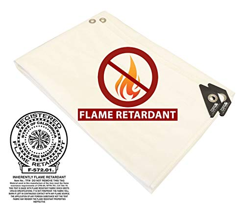 40-X-50-White-Fire-Retardant-Heavy-Duty-Canopy-Shade-Poly-Tarp-0