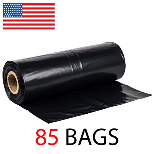 42-Gallon-Roll-of-85-Strong-Contractor-Bags-on-Roll-275MIL-Durable-Puncture-Resistant-MADE-IN-USA-37-x-43-0