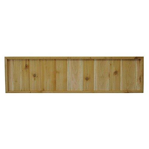 4575-in-x-12-in-Western-Red-Cedar-Solid-Pattern-Framed-Lattice-Panel-2-Pack-0