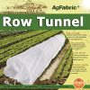 4X25FT-Agfabric-Grow-Tunnel-kit-09oz-Floating-Row-Cover-with-Tunnel-Hoops-For-Mini-GreenhousePlant-Cover-Frost-Blanket-for-Season-Extension-and-Seed-Germination-0