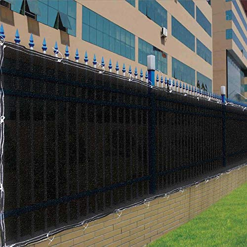 4×50-Black-Fence-Screen-90-Privacy-Fencing-Mesh-0