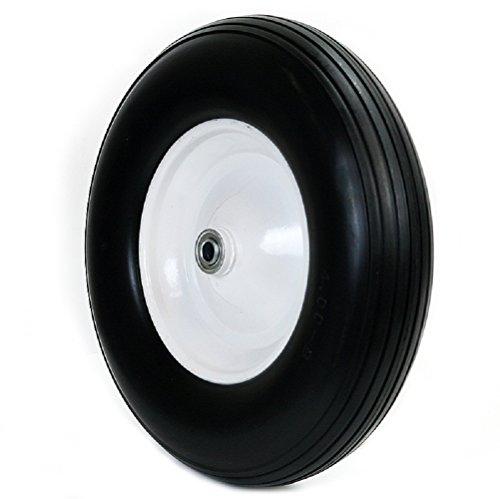 58-Wheelbarrow-Formed-Ribbed-Tread-16-Wheel-Barrow-Cart-Wagon-Tire-Flat-Free-0