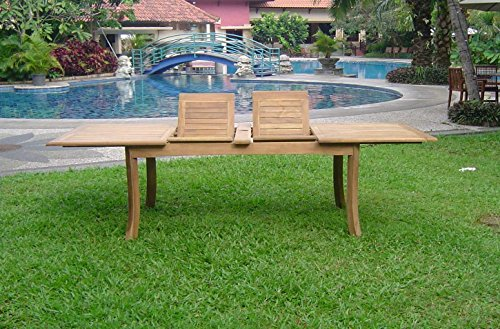 6-Seats-7-Pcs-Grade-A-Teak-Wood-Dining-Set-118-Double-Extension-Rectangle-Table-And-6-Osborne-Arm-Chairs-WHDSOS80-0-0