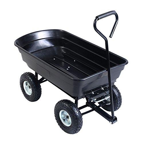 650LB-Garden-Dump-Cart-Dumper-Wagon-Carrier-Wheel-Barrow-Air-Tires-Heavy-Duty-0-1