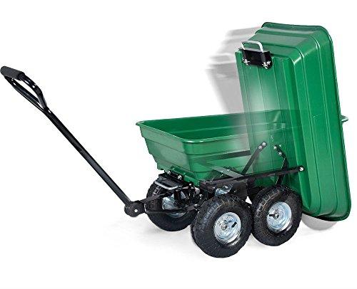 650LB-Garden-Dump-Cart-Dumper-Wagon-Carrier-Wheel-Barrow-Air-Tires-Heavy-Duty-0-15