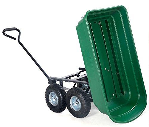 650LB-Garden-Dump-Cart-Dumper-Wagon-Carrier-Wheel-Barrow-Air-Tires-Heavy-Duty-0-16