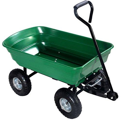 650LB-Green-Garden-Cart-Dump-Wagon-Trailer-Lawn-Wheels-Rolling-Storage-Wagon-Carrier-Barrow-Air-Tires-Heavy-Duty-0-0