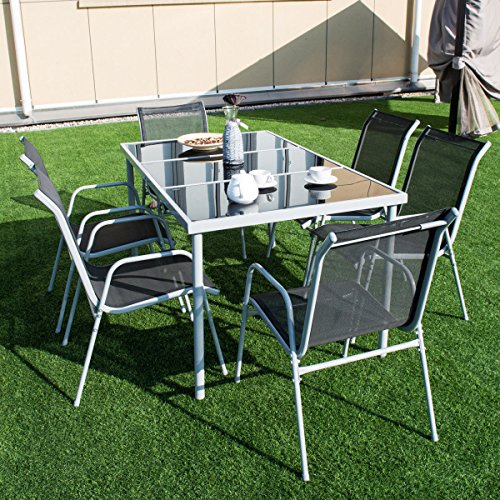 7-PCS-Steel-Table-Chairs-Dining-Set-Patio-Glass-Table-Top-Outdoor-Furniture-Allblessings-0-1