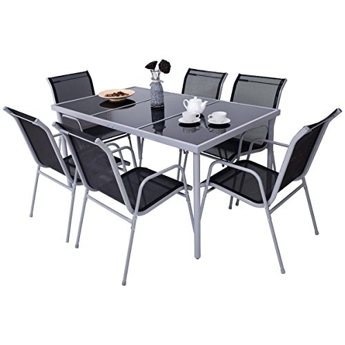 7-PCS-Steel-Table-Chairs-Dining-Set-Patio-Glass-Table-Top-Outdoor-Furniture-Allblessings-0